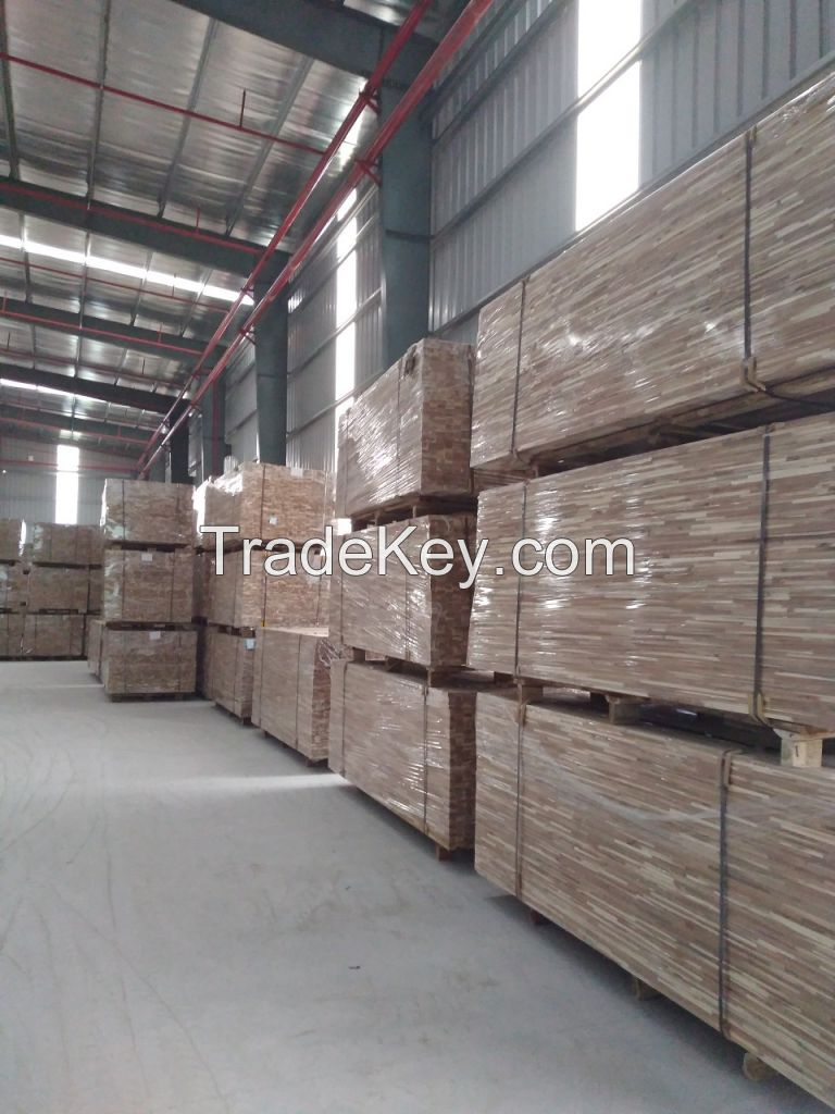 Vietnam finger-joint panel for Chairs, Tables and furniture usage