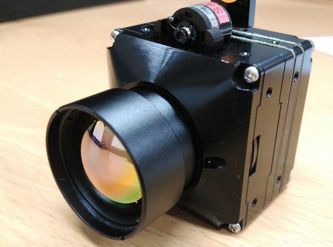 Heat Camera 24 degree / Lens / Temperature Detect, Surveillance camera, video
