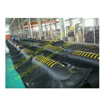 Inflatable Neoprene Oil Boom from  Evergreen Properity in Chinese(Qingdao Singreat)
