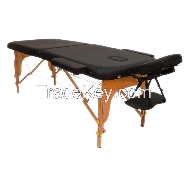 2 section wooden portable massage table