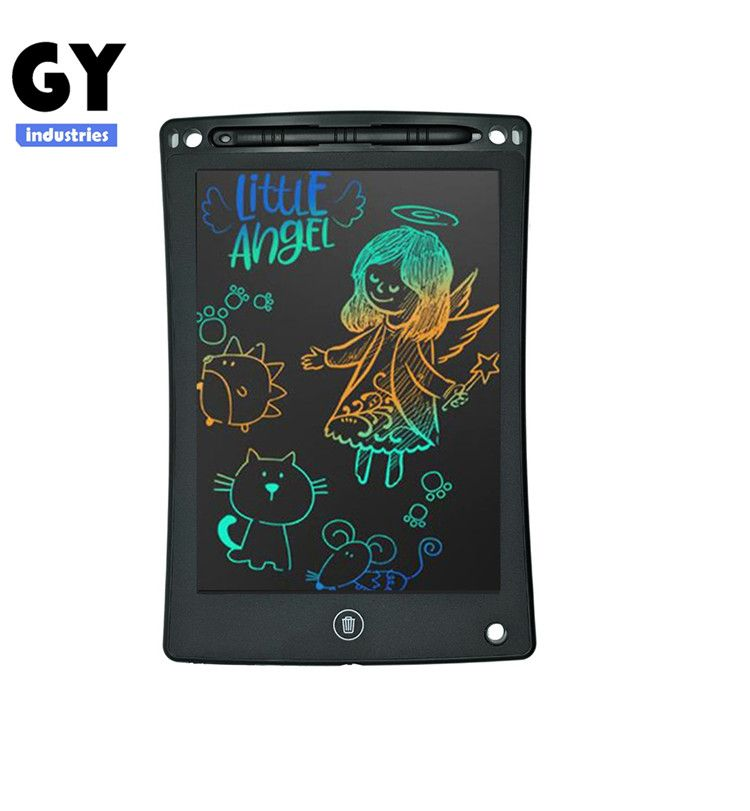 GY-industries China factory wholesale Erasable Memo Pad 8.5 Inch Digital Notepad school Lcd Writing Tablet With Memory Lock Toys For Kids