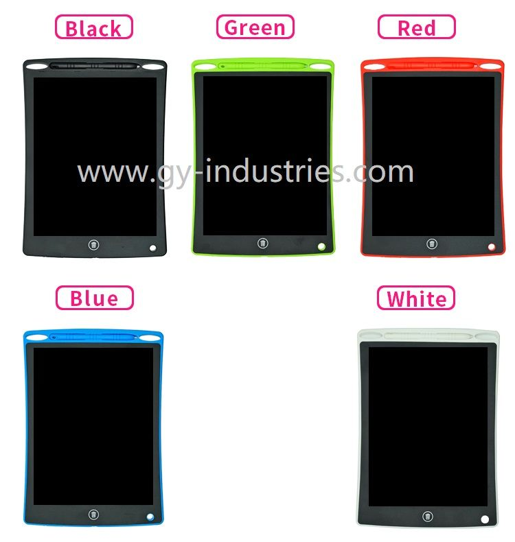 GY-industries kids toys promotion gift Ultra-thin 12 Inch LCD Writing Tablet Digital Drawing Tablet Handwriting Pad Electronic Painting Tablet