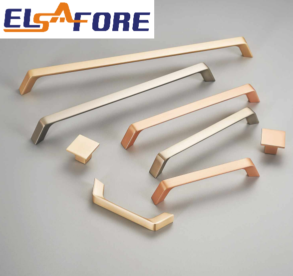 Minimalism zinc alloy furniture handle drawer pull handle