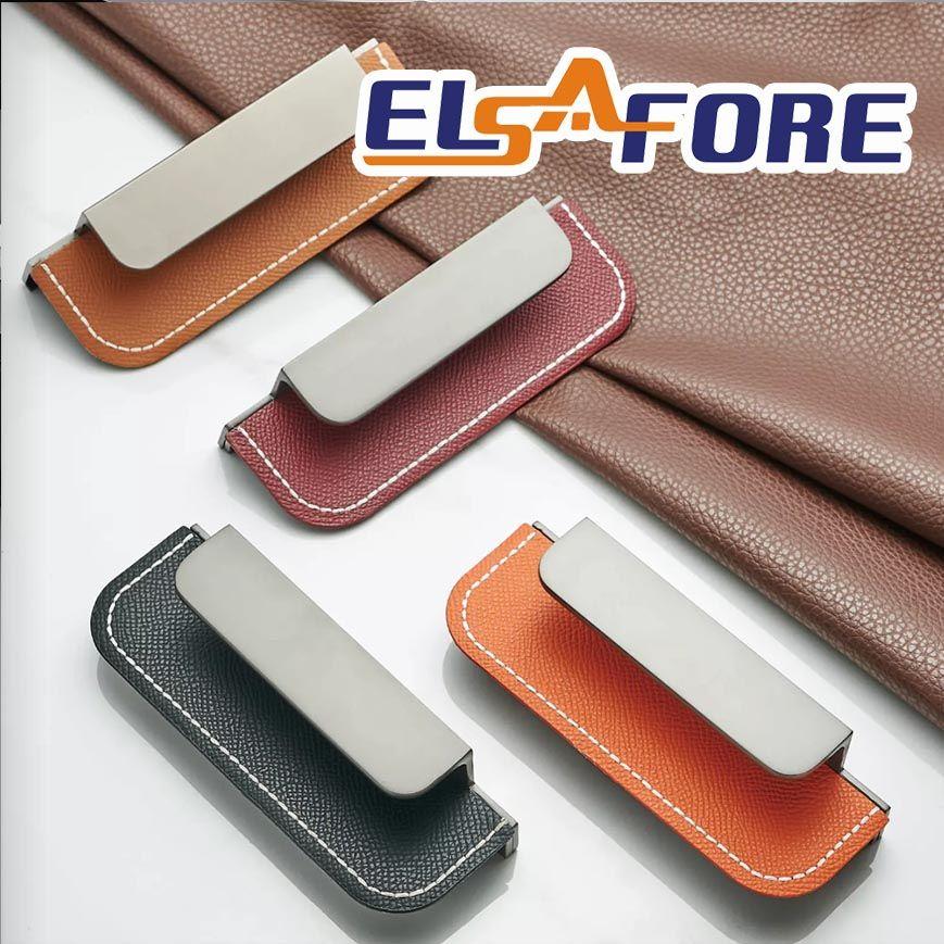 Stylish new products Leather + Zinc Furniture hardware