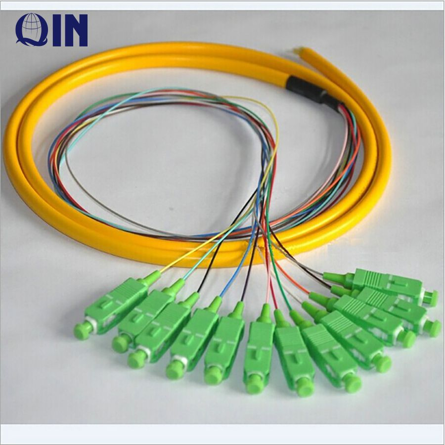 Multimode Optical Fiber Patch Cord MPO/MTP Fiber Optic Trunk Cable SC-LC MM
