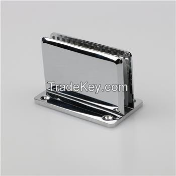 Glass corner clamp