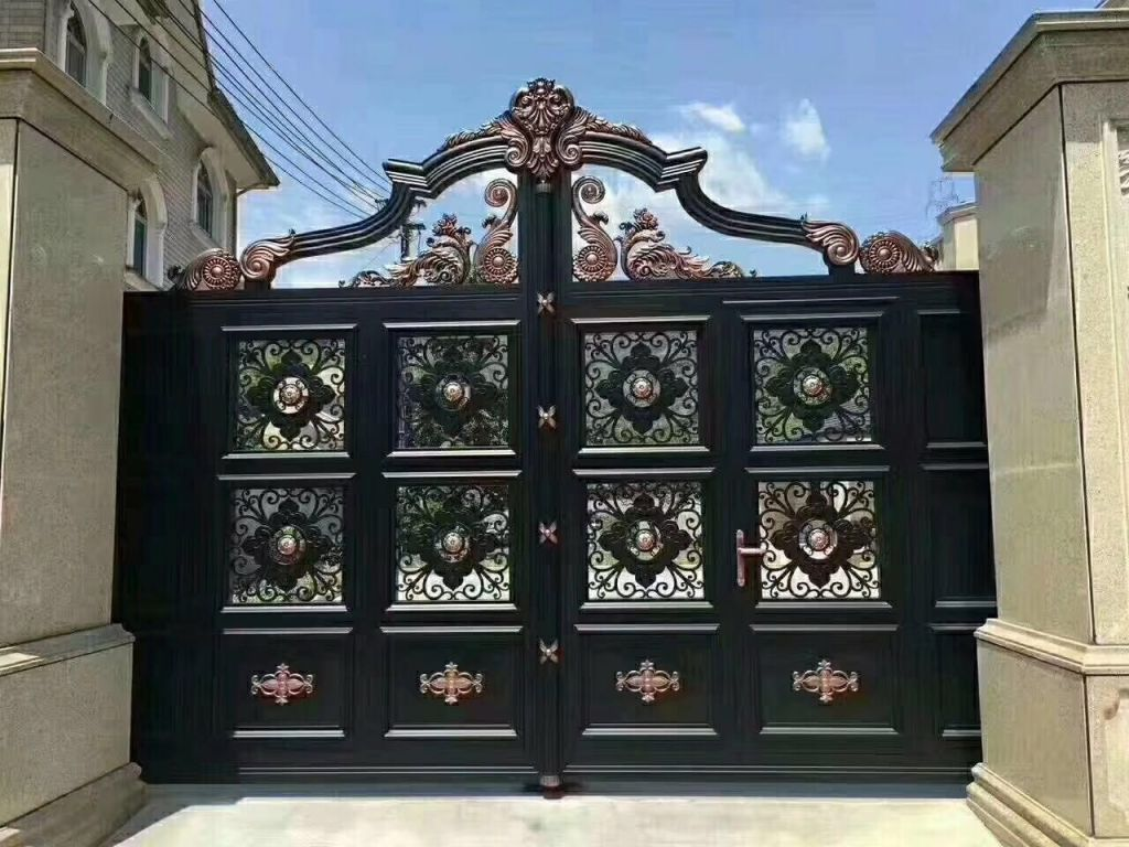 Luxury iron gate