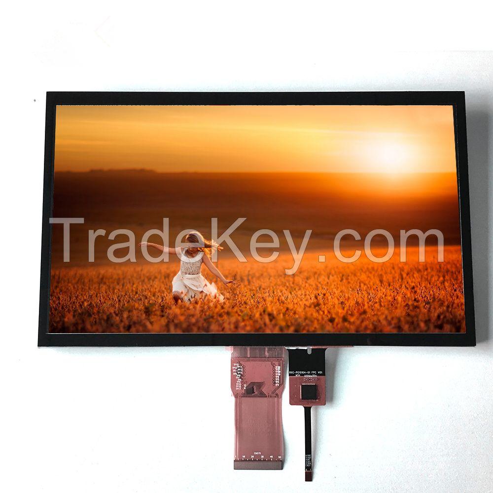 7 inch TN Module LCD Display 800(RGB)X480 TFT Panel with 24-bit Parallel RGB Interface 250nits Screen