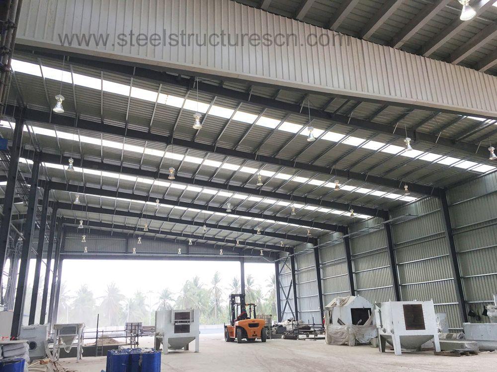 Prefabricated Steel Structure Workshop