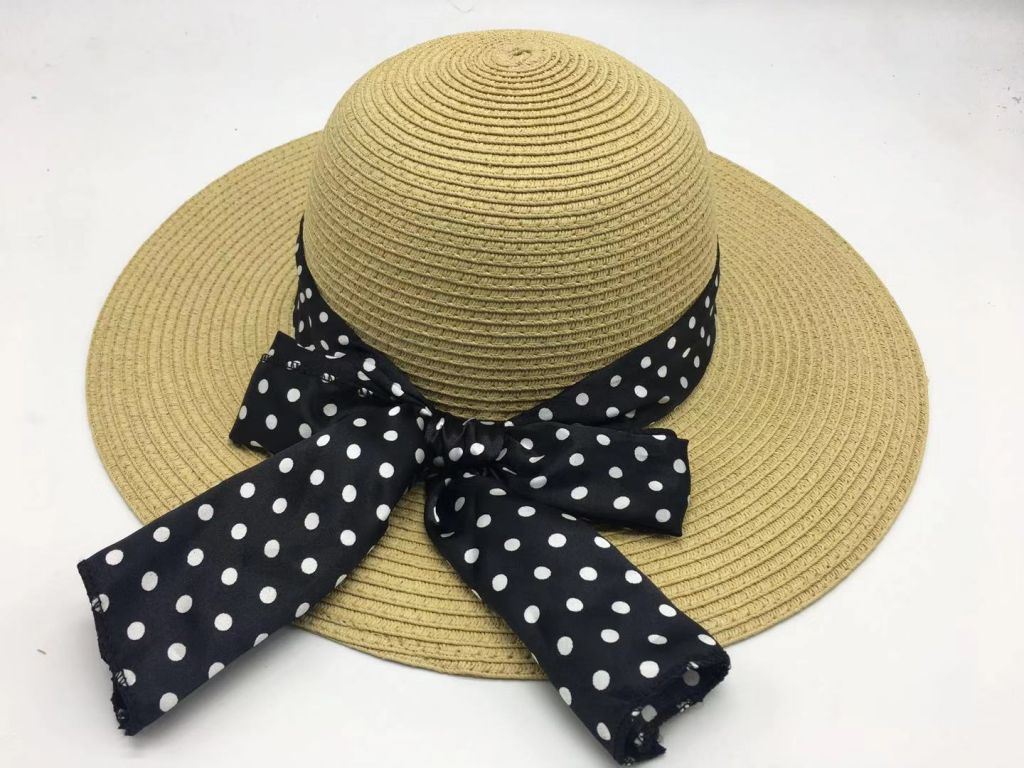 wholeseller fashion lady straw sun hats, trend cheap women floppy beach hat, elegant paper hat, recycle customized fashion accessories