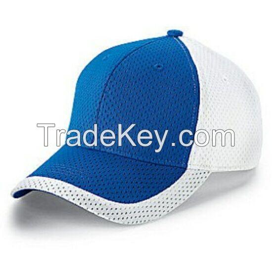 Fashion unisex trucker cap, blue white customized baseball sport cap,trend adult snakback hat