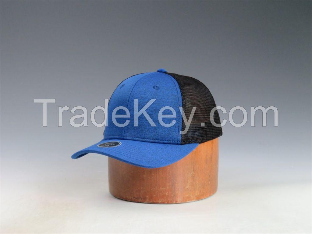 Fashion unisex trucker cap, blue black customized baseball sport cap,trend adult snakback hat