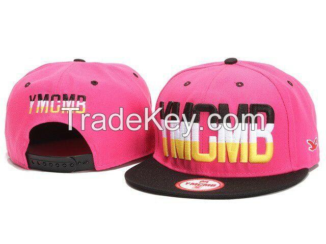 Fashion premium trucker cap, cheap yellow cotton customized baseball cap,trend adult snakback hat