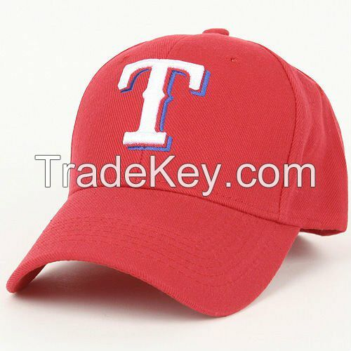 Fashion premium trucker cap, cheap red cotton customized baseball cap,trend adult snakback hat with embroidry logo