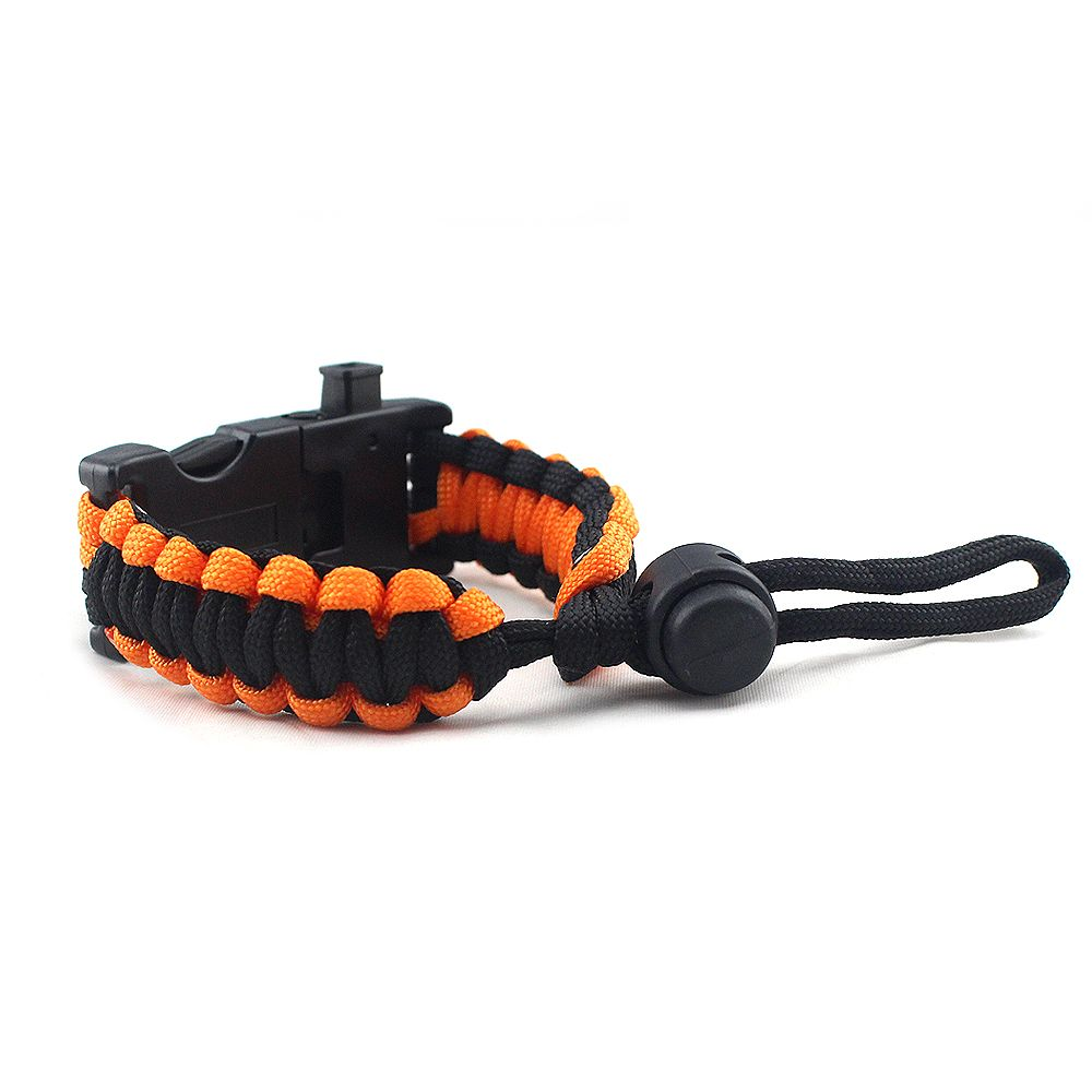 Wholesale Cheap Christmas mountaineering outdoor multi-functional LED light paracord bracelet