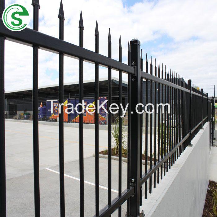 Manufacturer Customized High Security Anti-Rust Steel Tubular Decorative Fence