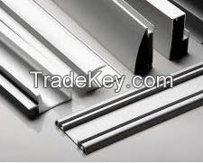Mechanically Polished Aluminum Profiles