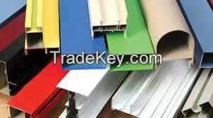 Powder Coated Aluminum Alloy Profiles