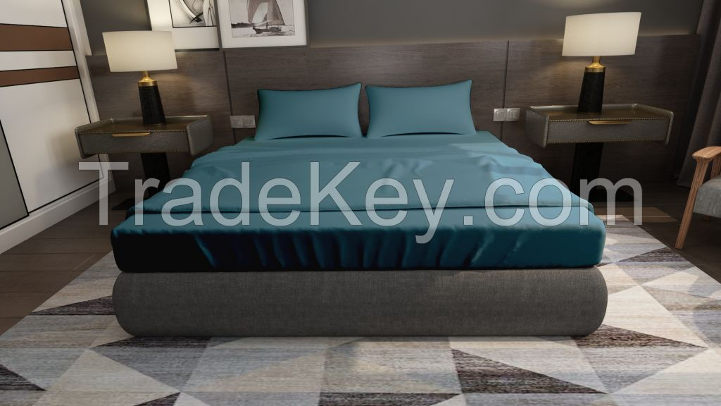 Bed sheet sets, pillow cases