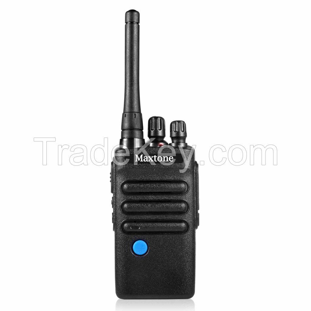 Outdoor football referee two way radio Handheld Radio Long Range Dual PTT Botton Group Talk uhf Walkie Talkie 10km