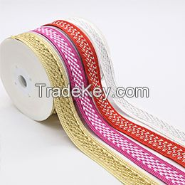 polyester decorative Braid webbing