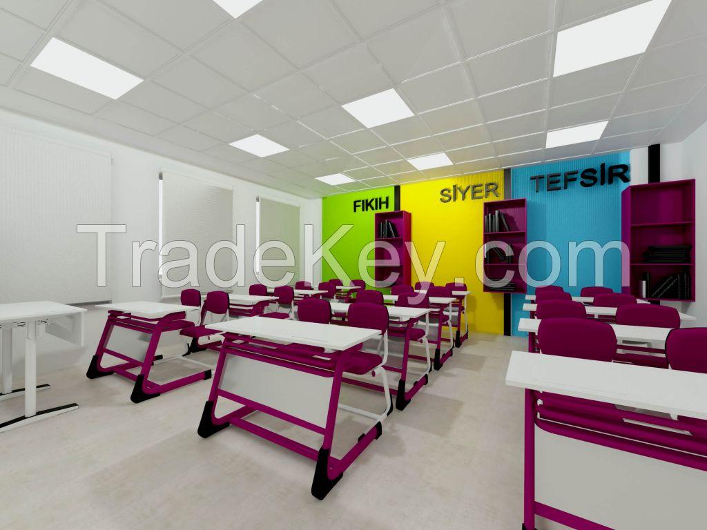 School Desk Sets