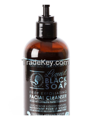 Natural Black Soap (Pressed)