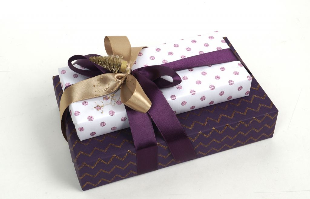 Shining Pearl Dots Glitter Gift Wrapping Paper (Premium) DESIGNWRAP