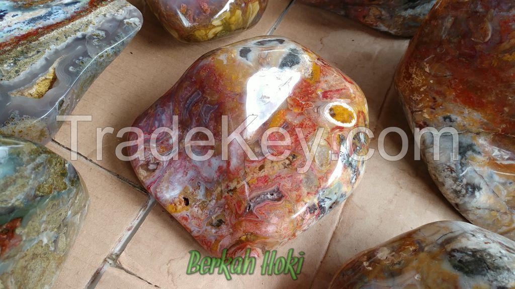 POLISHED INDONESIAN ROCKS / STONES