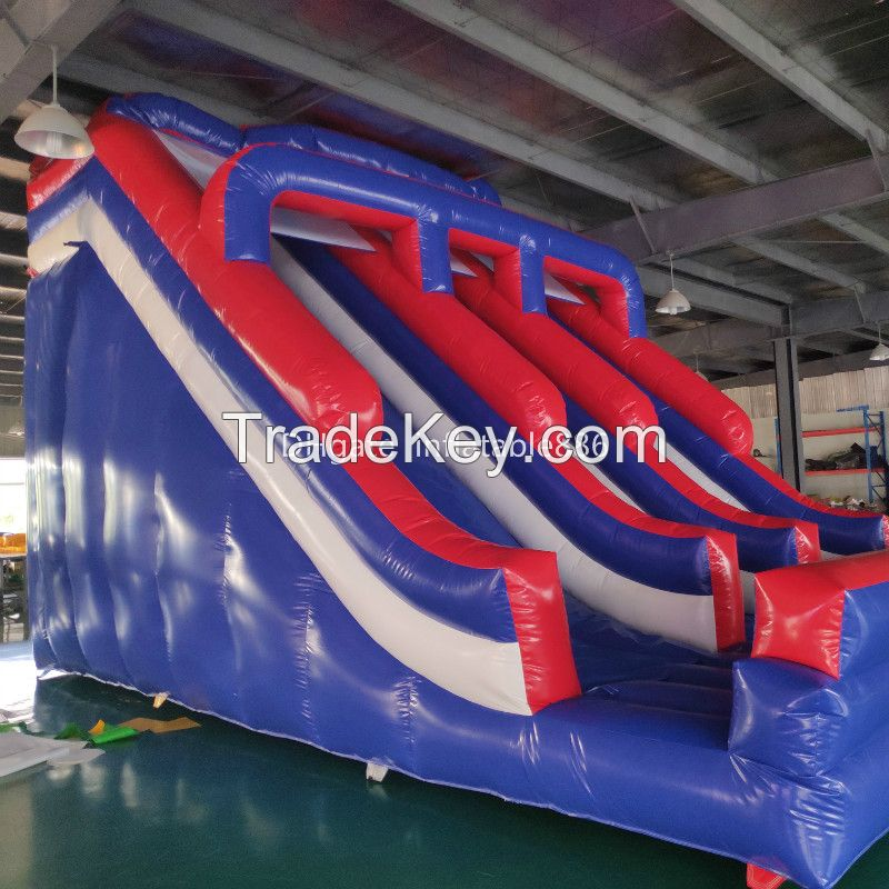 Outdoor Inflatable Slide with Climbing Steps for Kids Commercial Inflatable Amusement Equipment PVC inflatables with factory price
