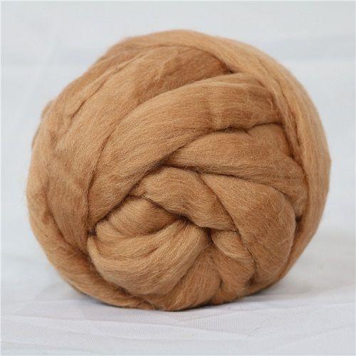66S, 21.5mic, 6cm, 100% wool thick arm knitting giant yarn super chunky merino wool yarn