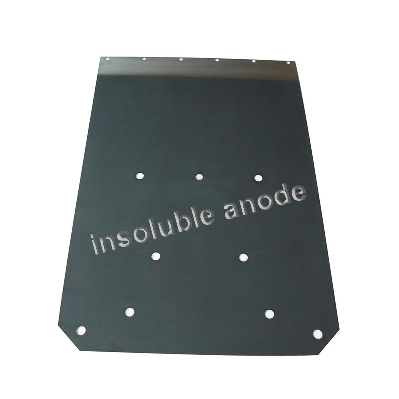 long service life corrosion resistance titanium anode plate titanium anode for copper electroplating