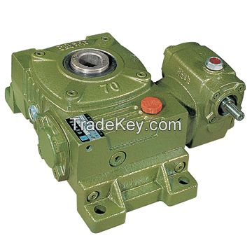 WP type cast iron gearbox speed reducer