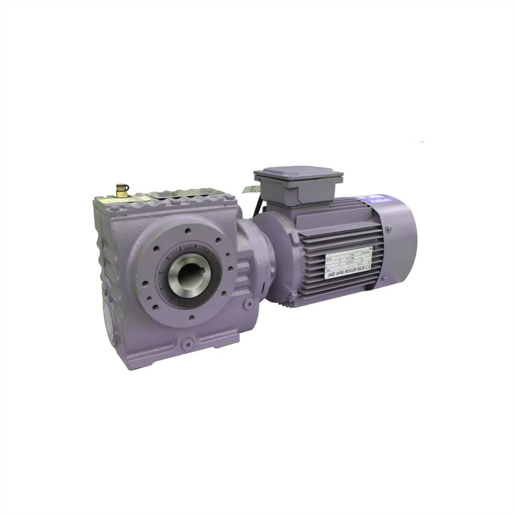 S series worm helical gearbox motor unit
