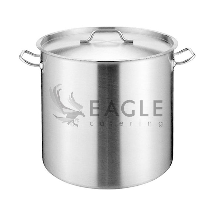 Commercial Hotel Equipment Stainless Steel with Lid Stock Pot