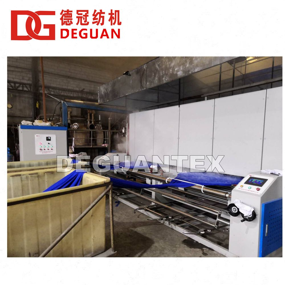 DEGUAN Tubular Heat Setting Machine (Heat Setter Machine)