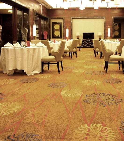 China Fire Resistant Axminster Carpet Tiles For Sale