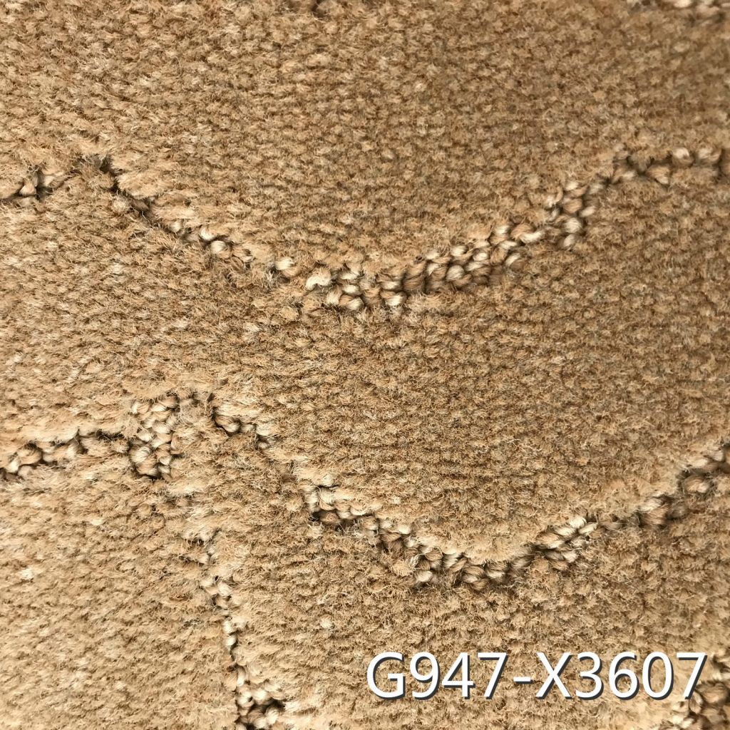 China Commercial Tufted Carpet with Non-Slip PP Back for Indoor and Hotel