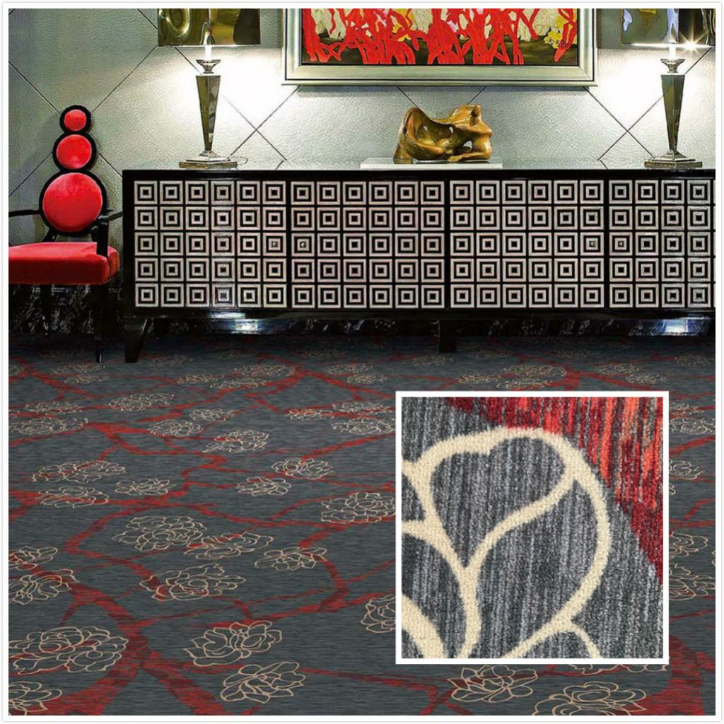 Commercial Nylon Printed Carpet for Room