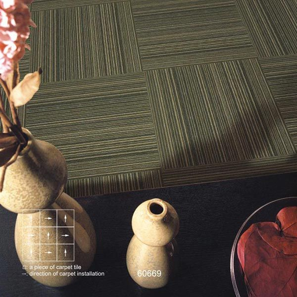 Stock Nylon Loop Pile Carpet Rug for Office Floor Covering/Cube Carpet Tiles for Office