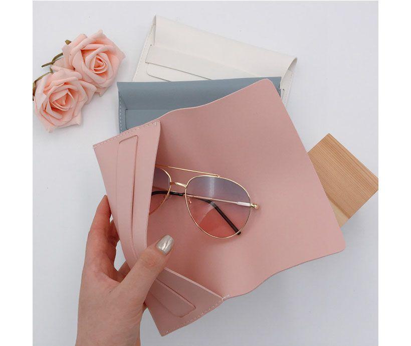Custom LOGO Fiber Sunglasses Drawstring Bags
