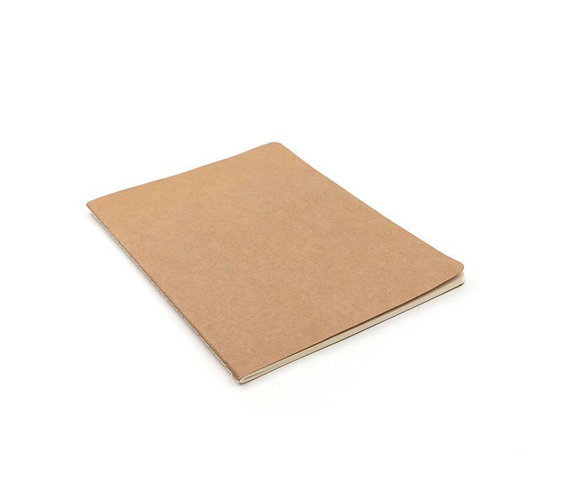 Wholesale Cheap Kraft Paper Blank Notebook