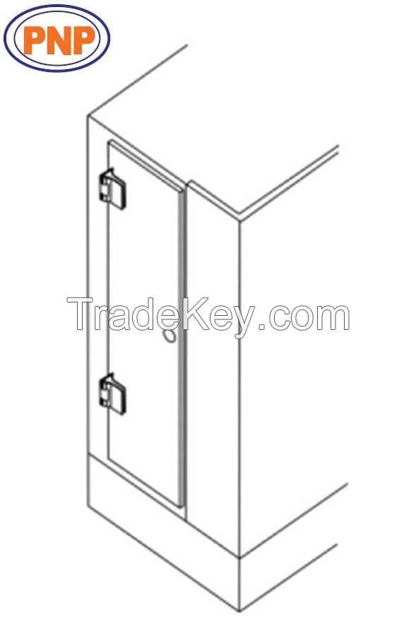 PNP880N Wall To Glass 90 Degree Front Shower Hinges