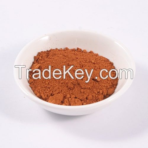 Iron trioxide Fe2O3 orange colour