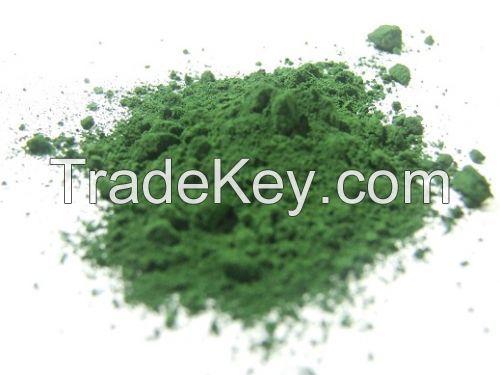 Iron trioxide Fe2O3 green colour