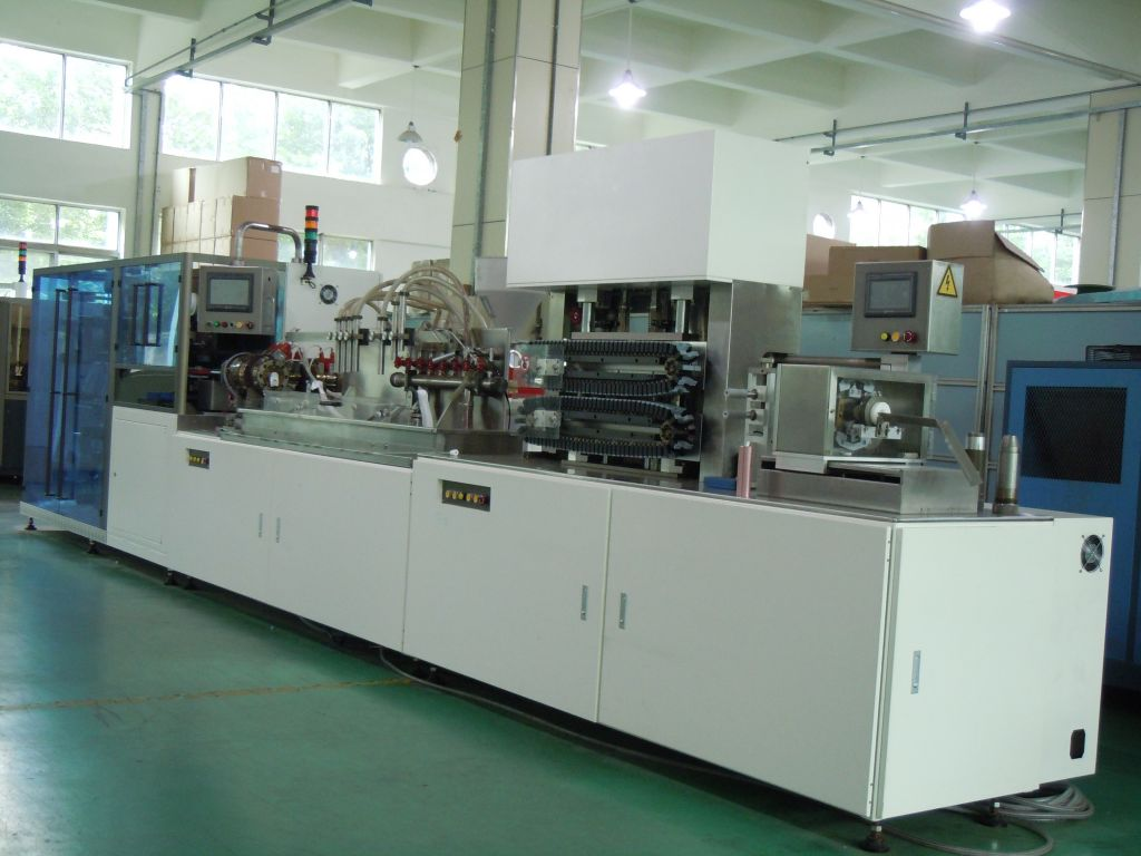 WUTUNG ALUMINUM FOIL TUBE WELDNG PRODUCTION LINE PLASTIC TUBES CO-EXTRUSION MACHINE AFT-90