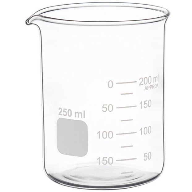 High Quality Brosilicate Glass Beaker Thick Wall Type Measuring Graduated Beaker