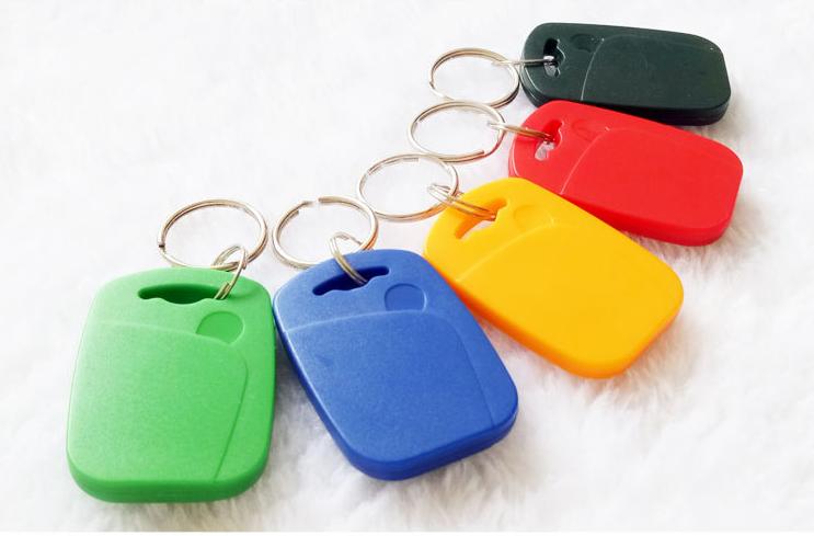 RFID keyfob tag