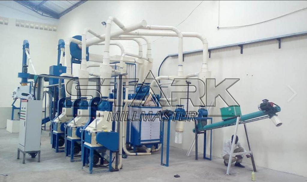 7T-15T  PLC Control Wheat Flour Milling Machine