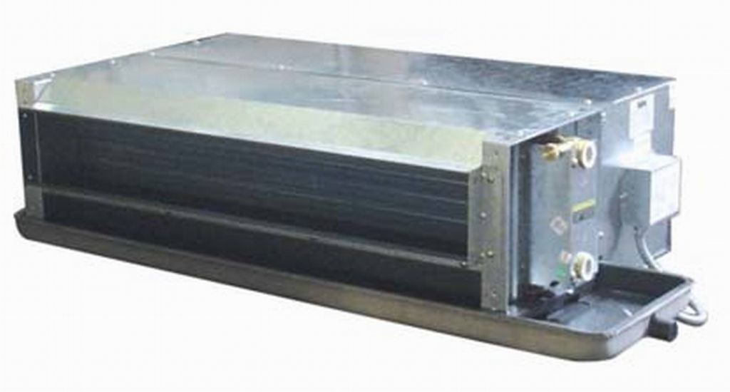 concealed chilled water fan coil unit